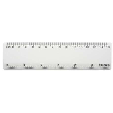 Personalised Rulers Printed White