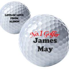 No.1 Golfer Personalised Golf Ball