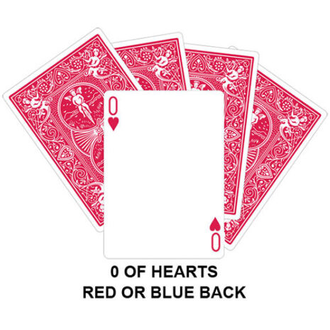 zero of hearts gaff card