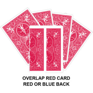 Overlap Red Card Gaff Card