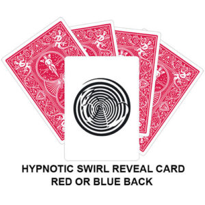 Hypnotic Swirl Reveal Gaff Card