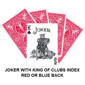 Joker With King Of Clubs Index