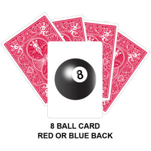 Eight Ball Card Gaff Card