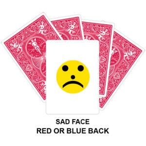 Sad Face Gaff Card