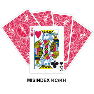 Mis Indexed KC/KH gaff card
