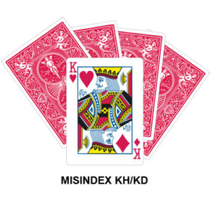 Mis Indexed KH/KD gaff card