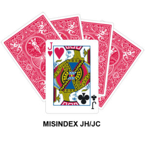 Mis Indexed JH/JC gaff card