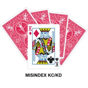 Mis Indexed KC/KD gaff card