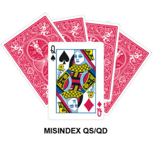 Mis Indexed QS/QD gaff card