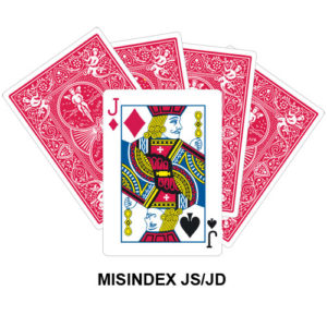 Mis Indexed JS/JD gaff card