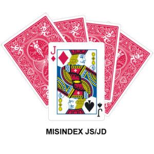 Mis Indexed JS/JD gaff card