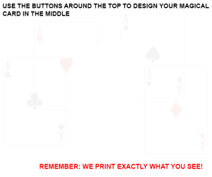 DESIGN YOUR PLAYING CARD FOR CUSTOM PRINTED BICYCLE CARDS