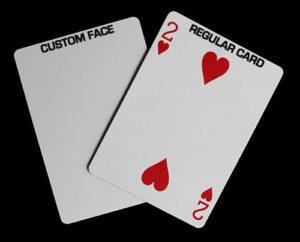 custom printed blank back bicycle playing cards Personalised