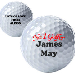 No.1 Golfer Personalised Golf Ball