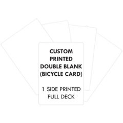 DOUBLE SIDED PERSONALISED BICYCLE CARDS