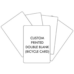 Double Blank Bicycle Cards Personalised Printed