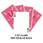 zero of clubs gaff card