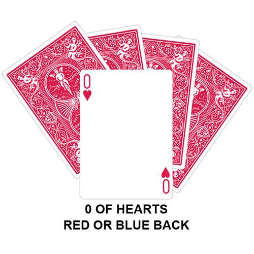 zero of hearts gaff card