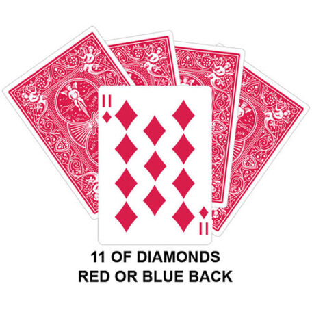 Eleven Of Diamonds Gaff Card