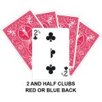 Two And Half Of Clubs Gaff Card