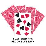 Scattered Pips Card Gaff Card