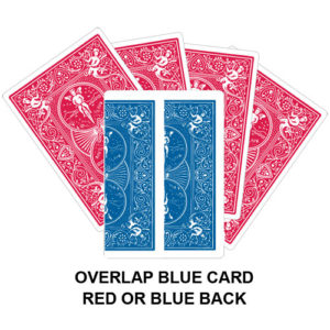 Overlap Blue Card Gaff Card