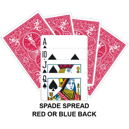 Spade Spread Gaff Card