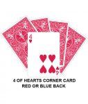 four of hearts corner gaff card