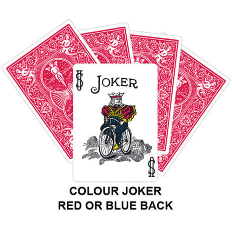 Colour Joker Gaff Card