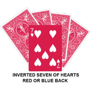 Inverter Seven Of Hearts Gaff Card