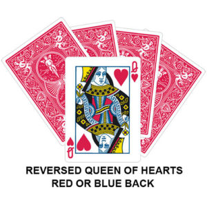 Reversed Queen Of Hearts Gaff Card