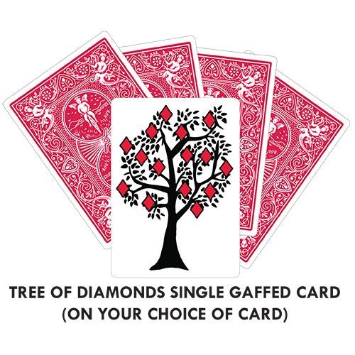 Tree Of Diamonds Gaff Card Printed Bicycle