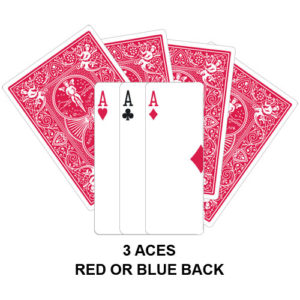 Three Aces Gaff Card