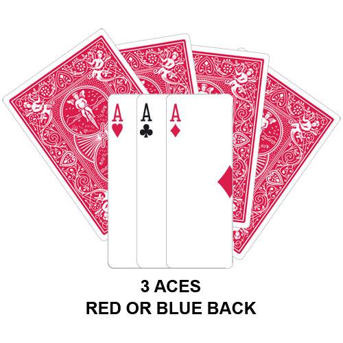 Three Aces Gaff Card