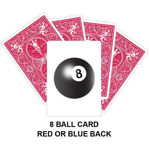 Eight Ball Card Gaff Card