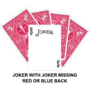 Joker With Joker Missing Gaff Card