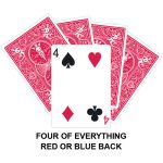 Four Of Everything Gaff Card