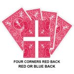 Four Corners Red Back Gaff Card