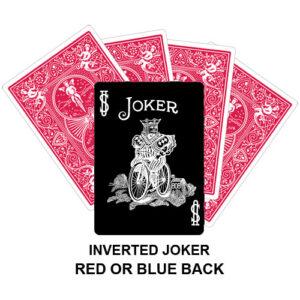 Inverted Joker Gaff Card