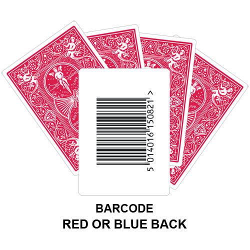 Barcode Gaff Playing Card