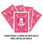 Pennywise Clown Red Back Gaff Card