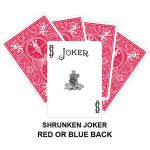 Shrunken Joker Gaff Playing Card