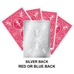 Silver Back Gaff Playing Card
