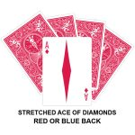 Stretched Ace Of Diamonds Gaff Playing Card