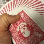 Pennywise clown bicycle playing cards magic trick