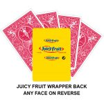 Juicy Fruit Gaff Playing Card