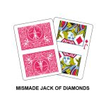 Mismade Jack Of Diamonds Gaff Playing Card