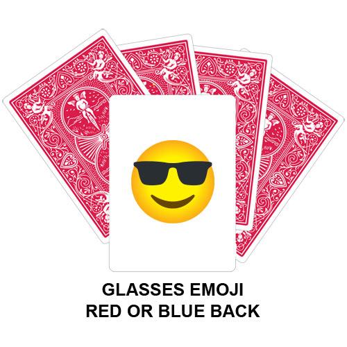 Glasses Emoji Gaff Playing Card