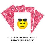 Glasses On Head Emoji Gaff Card
