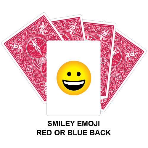 Smiley Emoji Card Gaff Playing Card